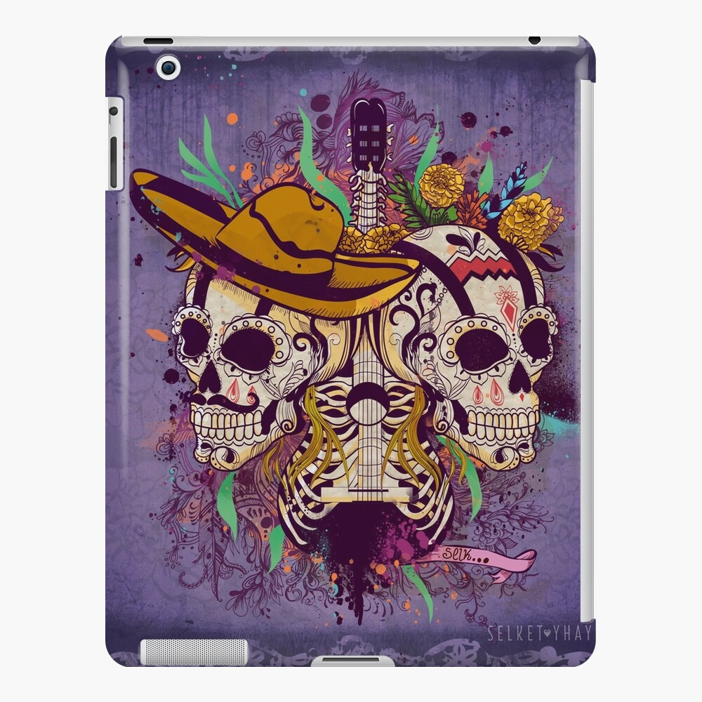 Day of the dead iPad Case & Skin