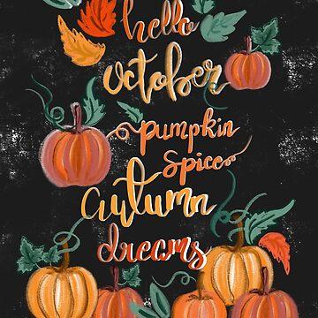 Hello October by muktalata-barua