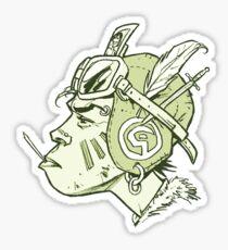 FlyGirl Sticker