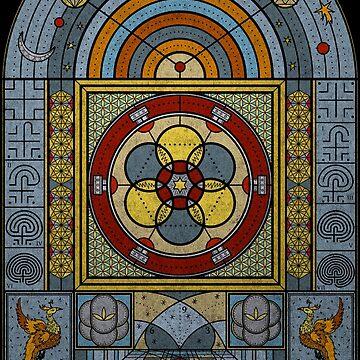 Sacred Geometry - The Journey Within by RAFAROMAN