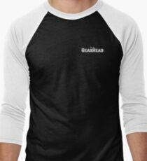 Just a GearHead name White text Men's Baseball ¾ T-Shirt