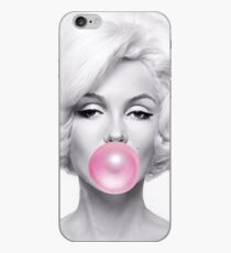 Black and White marilyn monroe Gum iPhone Case