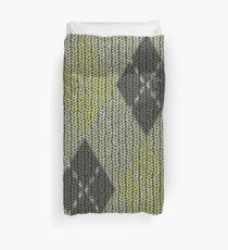 Cactus Garden Argyle 1 Duvet Cover