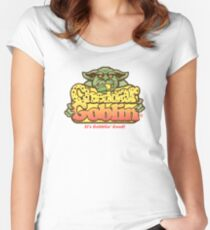 Cheddar Goblin Women's Fitted Scoop T-Shirt