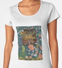 To Plant a Garden Premium Scoop T-Shirt