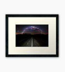 The Milky Highway 3:2 Framed Print