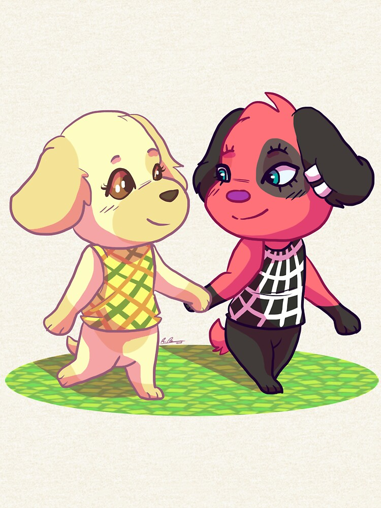 AC:NL- Goldie and Cherry by EpikBecky