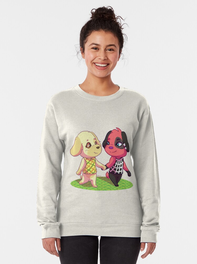 Alternate view of AC:NL- Goldie and Cherry Pullover Sweatshirt
