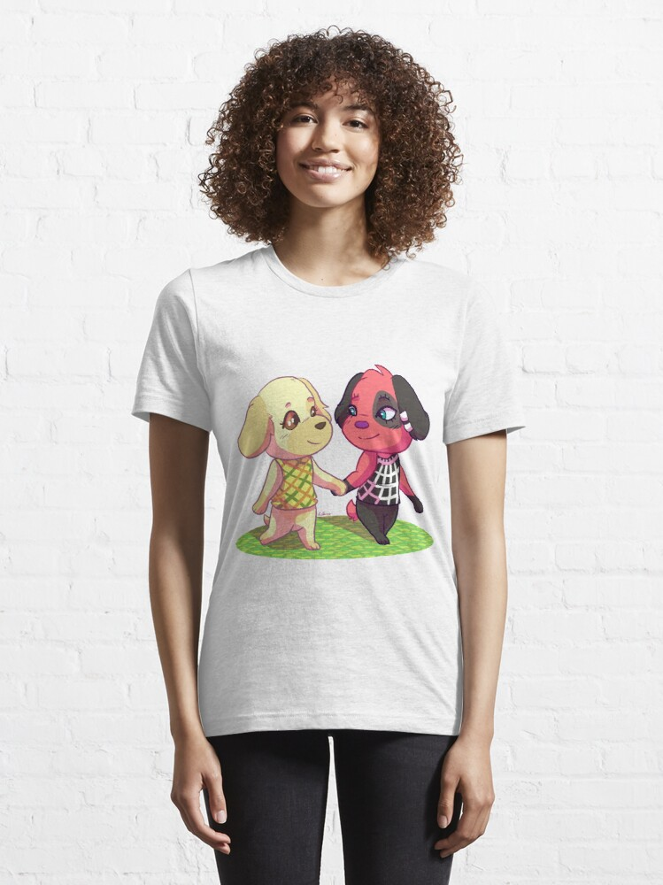 Alternate view of AC:NL- Goldie and Cherry Essential T-Shirt