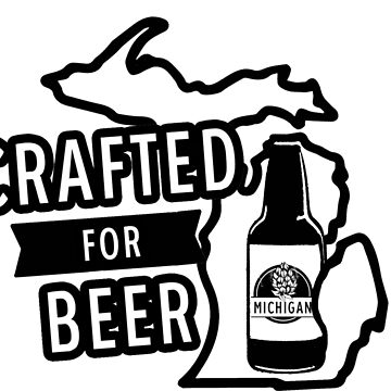 Michigan Craft Beer, Grand Rapids Beer, Detroit Beer, Beer Shirt, MI Beer by tshirtbrewery