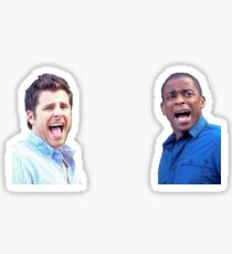 Shawn and Gus Sticker