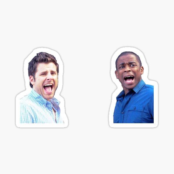 Shawn und Gus Sticker