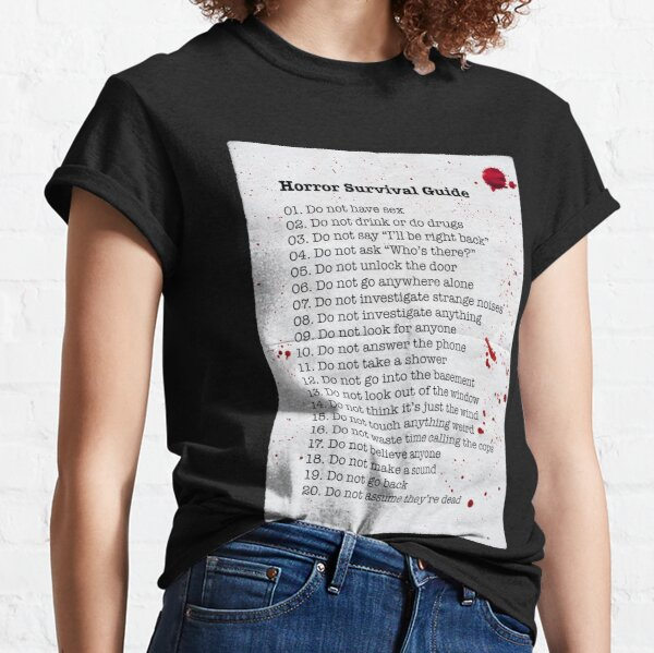 Horror Survival Guide Classic T-Shirt