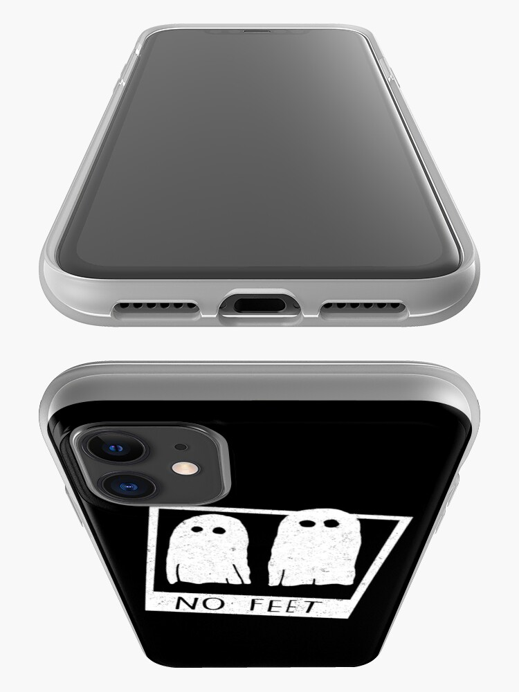 Alternate view of No feet iPhone Case & Cover
