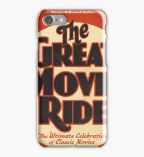 Great Movie Ride iPhone Case/Skin