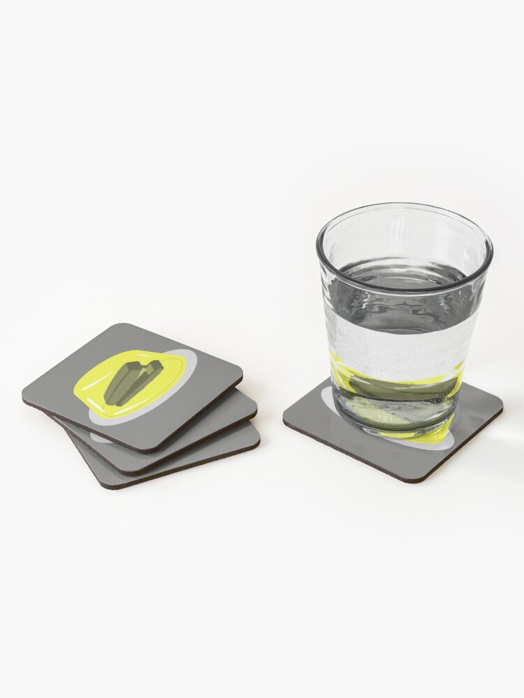 Alternate view of Stapler In Jello, Office Prank For The Brave Design, Original Funny Gift Idea, Dwight Best Quote From Office Coasters (Set of 4)