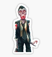 Scared Mort Sticker