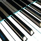 Colored Piano Keys (artistic texture) by Jerald Simon (Music Motivation - musicmotivation.com) by jeraldsimon