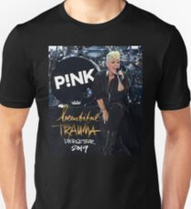 hot Poster Tour  Pink in Beautiful trauma world tour 2019  Unisex T-Shirt