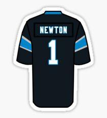 Pegatina Cam Newton Jersey
