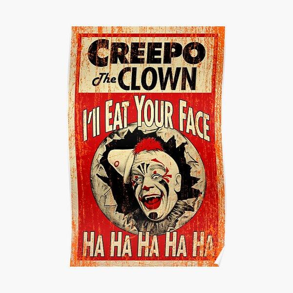 Creepo the Clown Poster