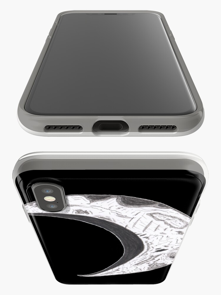 Alternate view of Merch #25 -- Weathered Crescent iPhone Cases & Covers