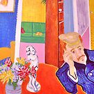 Visit from Doctor Gachet ( Homage to Vincent ) by Richard  Tuvey