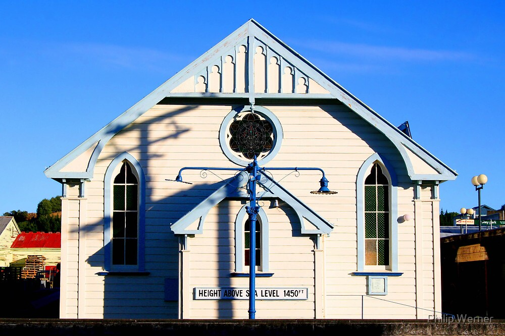Taihape Church by Philip Werner