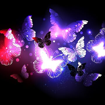 Swarm of Night Butterflies by Blackmoon9