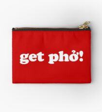get phở! Studio Pouch