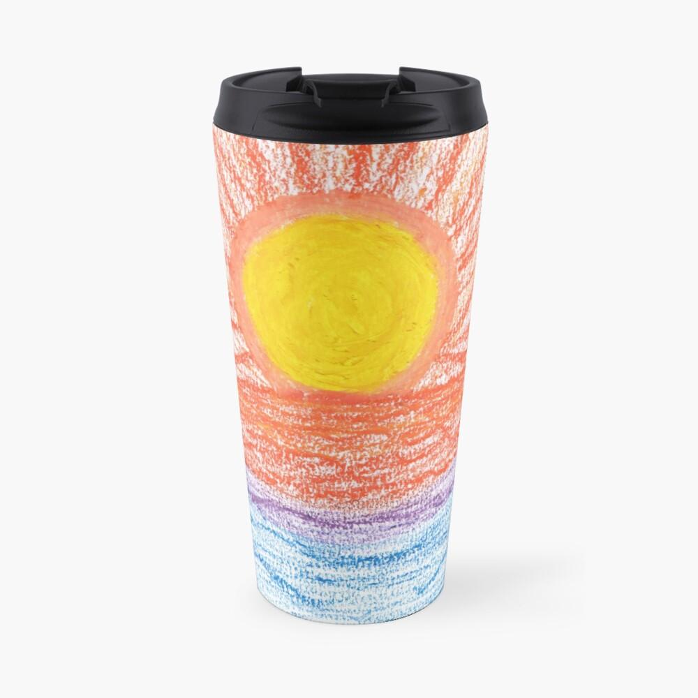 Merch #28 -- Sea Sunset Travel Mug