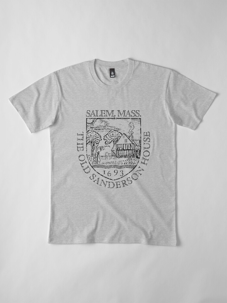 Alternate view of The Old Sanderson House Premium T-Shirt