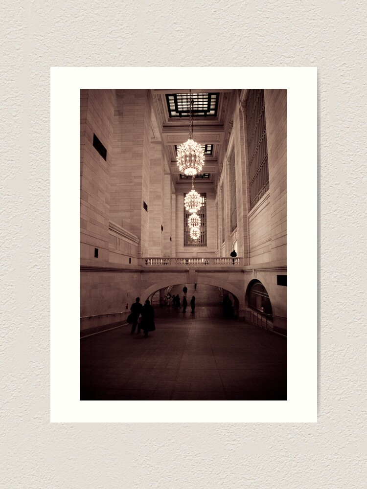 Alternate view of Grand Central Art Print