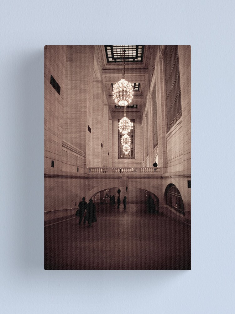 Alternate view of Grand Central Canvas Print