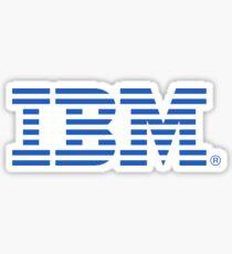 Pegatina Logotipo de IBM
