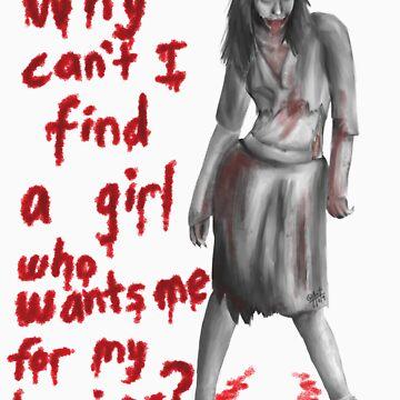 Zombie Girlfriend #1 by Dragonhaunt