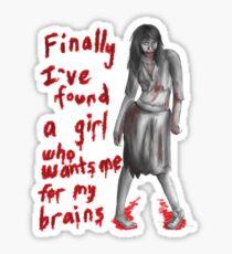 Zombie Girlfriend #2 Sticker