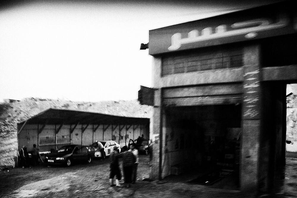 'Garage Iman'  by John  van Dijen