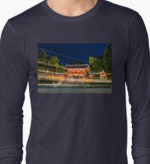 Orange Temple Long Sleeve T-Shirt