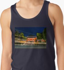 Orange Temple Tank Top