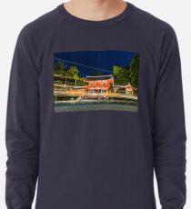 Orange Temple Lightweight Sweatshirt