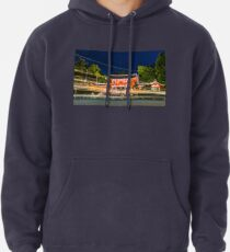 Orange Temple Pullover Hoodie