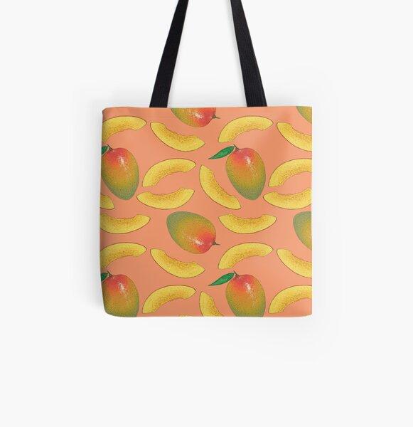 Mango All Over Print Tote Bag