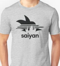 Saiyan Goku - Sports Design Slim Fit T-Shirt