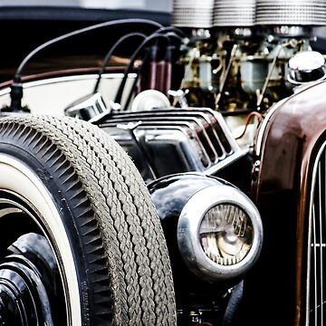 Old car engine by NaCl01