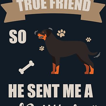 I Love My Rottweiler Gifts by GalantiShop