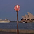 P&O enters Sydney Harbour. by Nick Hunt