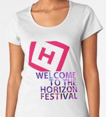 """H """"THE HORIZON"""" Women's Premium T-Shirt"""