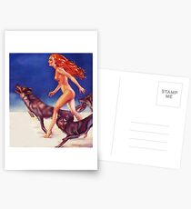 Running with wolves Postcards