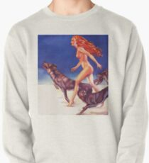 Running with wolves Pullover